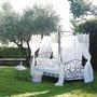 Camas Con Dosel Baldaquino Hierro Adriatico Queen Size 1.80m