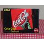 Coca Cola - Tarjeta Postal 2000 Disfruta Botella Contour