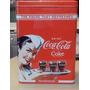 Lata Redonda Coca Cola Importada Original 13.5 Centimetros