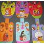 Lote De 6 Gorritos Tipo Viseras Hanna Barbera Plastirama
