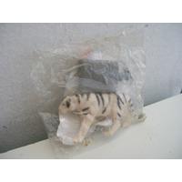 Colección Animalitos De Temaikén De Patitas Tigre Blanco
