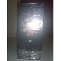 Caja De Whisky Chivas Regal 12 Años 750cl - Coleccionable