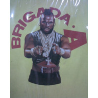 Brigada A - Carpeta Con Ganchos Mr T Baracus Original 1980!!