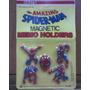 Iman Corporeo X 5 Hombre Araña Plastico Nasta Marvel Blister