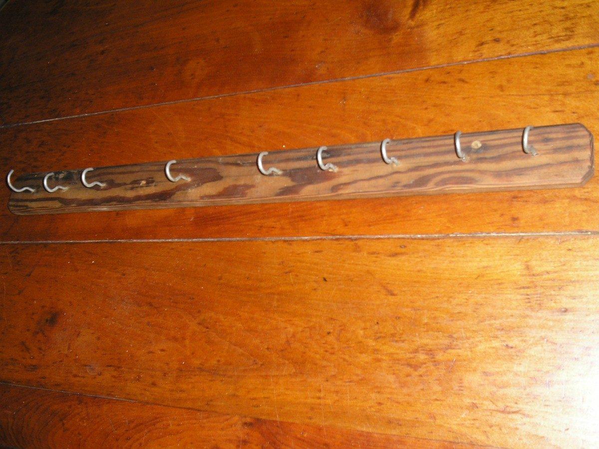 Decorar cuartos con manualidades colgadores de madera - Colgadores de pared de madera ...