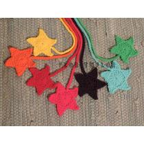 Estrella Crochet - Colgante Señalador - Ideal Para Souvenir