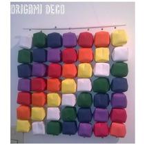 Bandera Unidad Latinoamerica En Papel Origami-dia Del Amigo