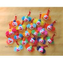 Pack X 30 Payasos Tejidos A Crochet Llaveros Ideal Souvenirs