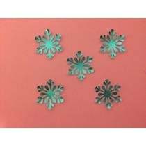 Copos De Nieve Frozen Metalizados