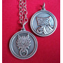 Colgante Collar Dije Final Fantasy Vii - 7 Emblema Lobo Ff7