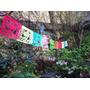Banderines / Guirnaldas Calaveras Mexicanas/ Caladas A Mano