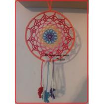 Mandalas Atrapasueños Crochet