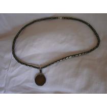 Collar De Hematite Yin Y Yang