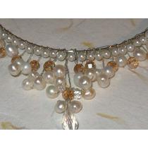 Tiara Con Perlas Cultivadas Ensueño De Amor