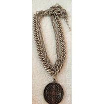 Collar Medallon San Benito
