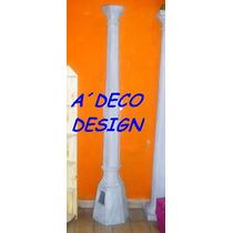 Columna Cemento Farola Iluminacion Farol Fabrica