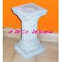 Columnas Estriada 40 Cemento Bases Pedestal Oferta Adorno