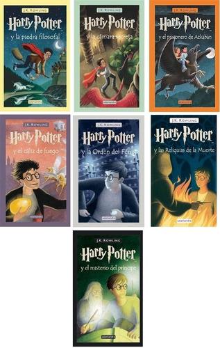 Combo J. K. Rowling - Harry Potter Saga Completa + Regalos!!