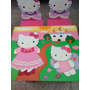 Mesa Y Sillas Infantiles Hello Kitty