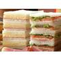 48 Sandwich Miga Triples De 13x6 Super Rellenos.