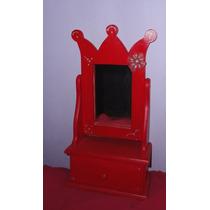 Mini Tocador O Toilette Con Espejo
