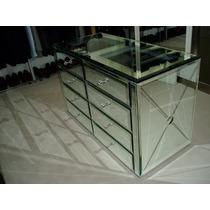 Comoda Espejada Con Espejos Biselados - Somos Fabricantes-