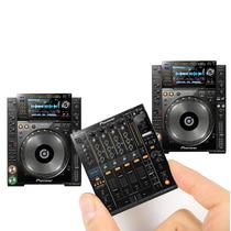 Set Imanes X 3 Pioneer Cdj 2000 Y Djm 900 Nexus Dj Souvenir