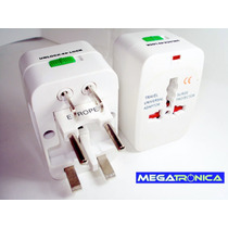 Adaptador Universal Viajero Enchufe Movible Eeuu Europa Asia