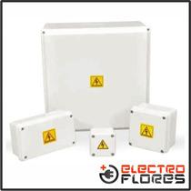 Caja De Pase Pvc Estanca Roker Ip65 Pr1011-108 437x285x108mm