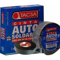 Cinta Auto Soldable Aisladora Autosoldante Tacsa 19mm 9,14m