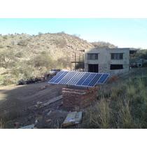 Energia Electrica Panel Solar Casa Campo Y Urbano