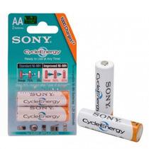 Pila Recargable Sony Cycle Energy Aa X 2u 4600 Mah Nh +dura