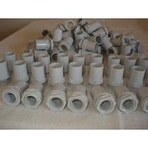100 Conectores Para Tubos Rigido Tubelectraic 20 Mm