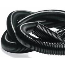 Caño Corrugado Negro Diam. 32mm C/corte Longitudinal X Metro
