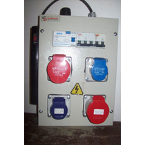 Tablero Electrico Industrial,portatil De Obra, Nuevo.
