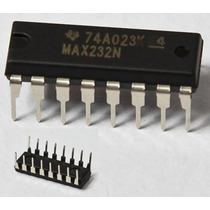Integrado Semiconductor Max232 Para Técnico Ht Electronica !