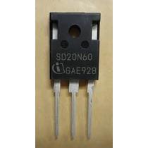 Transistor Mosfet Infineon Sd20n60