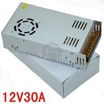Fuente Transformador Switching Out 12v 30a 360w Apta Leds