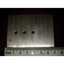 50 Disipador Aluminio Electrónica Transistor To-220 Plano