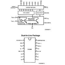 Dac0808 Texas Instruments Conversor Digital Analogico 8 Bit