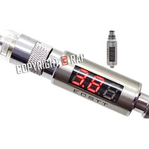 Voltímetro+ohms Meter Led Tester Batería Imr Litio Resistenc