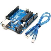Arduino Uno R3 Atmega328p + Cable Usb Atmel Ptec