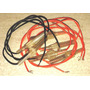 12 Portafusibles Aéreos 6 X 32 Presión Con Cables Nuevos