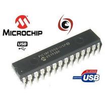 Pic Microchip Microcontrolador Pic18f2550 18f2550