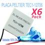 Peltier Tec1-12706 Pack X6