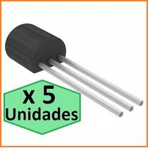 Transistor To92 Npn 2n2222 X 5 Unidades