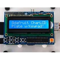 Raspberry Kit Para Armar Display Lcd 16x2 + Teclado 5 Teclas