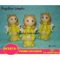 Souvenirs Para Comunión O Bautismo Angelitas Oferta!!