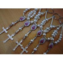 Denarios Llavero Rosario, Virgen Lujan Comunión
