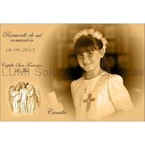 Tarjetas De Comunión, Estampas Y Souvenirs 20 Unid. 8x12 Cm